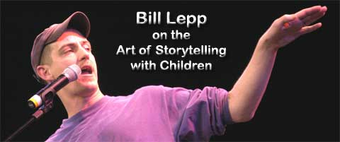 Storyteller - Bill Lepp speaking on how he solved world hunger during his