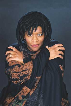 Donna Washington professional storyteller and featured ghost story teller at the 2008 National Storytelling Festival.