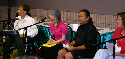 National Storytelling Conference in 2008 on the future of storytelling online