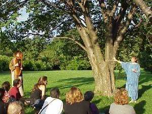 Storytelling under the Cherry Tree