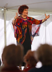 Lenny Del Seamonds Storytelling at the National Storytelling Festival