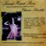 Second Hand Rose Storytelling CD