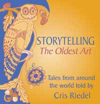 Chris Reidel Storyteller Cover of CD