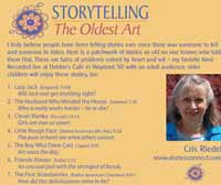 Chris Reidel Storyteller